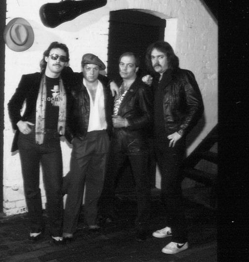INCOGNITO 1981 - Tank, Ricky McDonald, J.B., Bobby Regan.