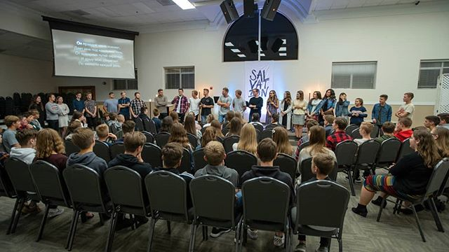 Thanks for making Teens awesome this week! See you next Tuesday! #teensatsalvation  #teens  #salvationbaptistchurch