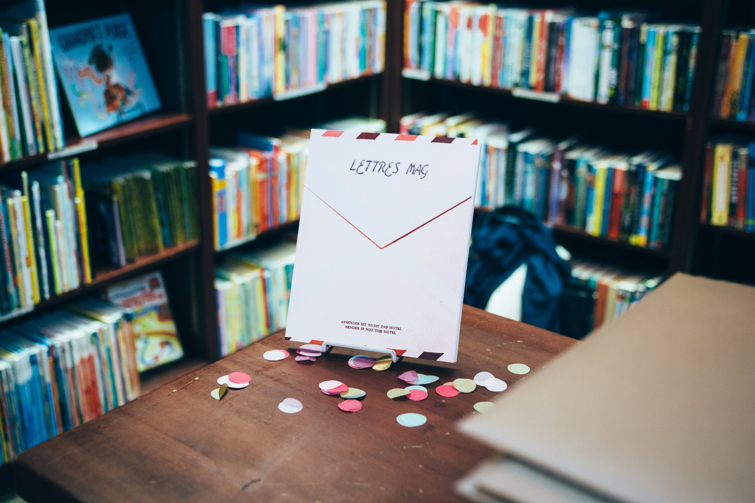 lettres mag launch housing works bookstore cafe nicole espina