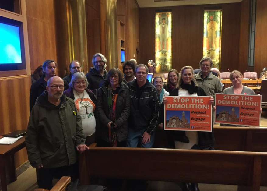 St. Paul's Heritage Preservation Commission voted 8 to 1 in favor of making St. Andrews a Heritage Preservation Site -