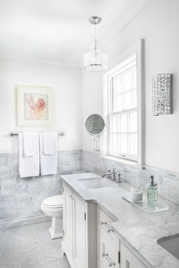 Hunker - We Asked 6 Designers For Their Budget Bathroom Remodel Tips