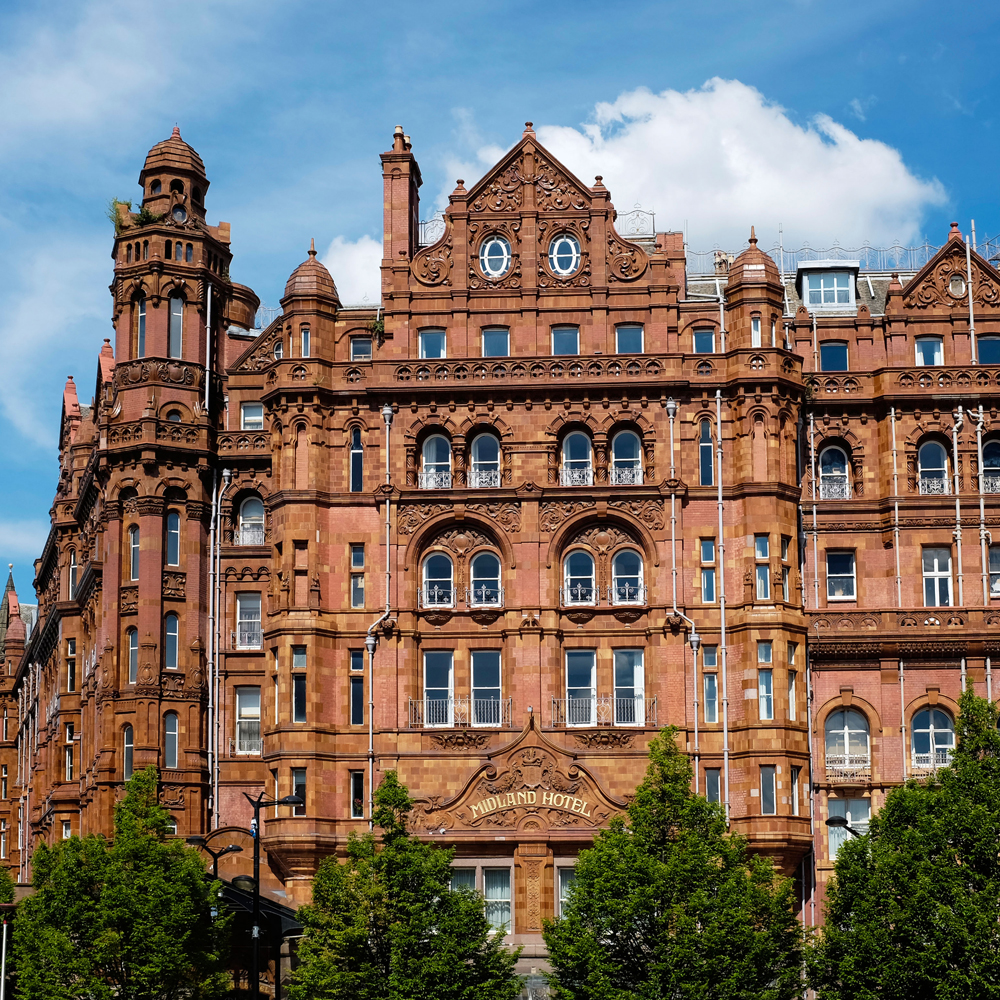 HOMAGE TO A GRAND DAME - The Midland, Manchester – An iconic grand dame was getting an update and makeover in 2015, including it's famed afternoon tea service. Quinteassential was invited and collaborated with the hotel to revamp its tea menu.