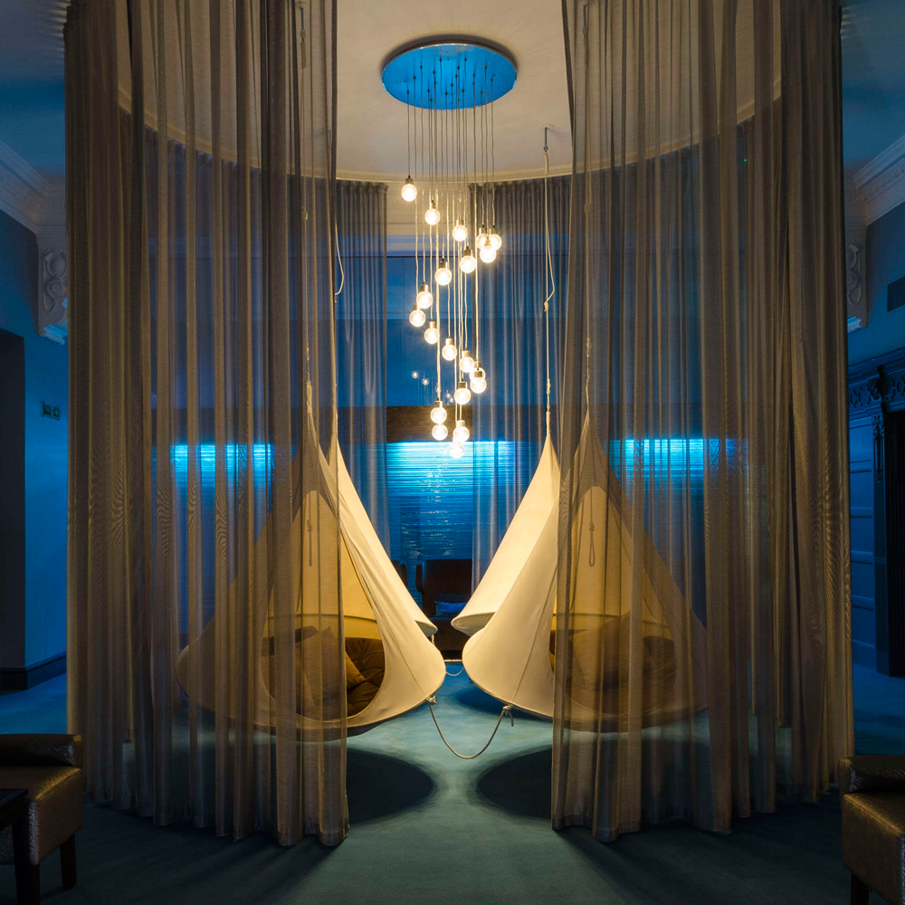 SANCTUARY IN THE CITY - The Midland Spa, Mancheser – Escape the hustle and bustle of the city and retreat to the calming spa within The Midland. Quinteassential designed a tea menu that mirrors the spa's holistic experience: detox, beauty, relax and refresh.