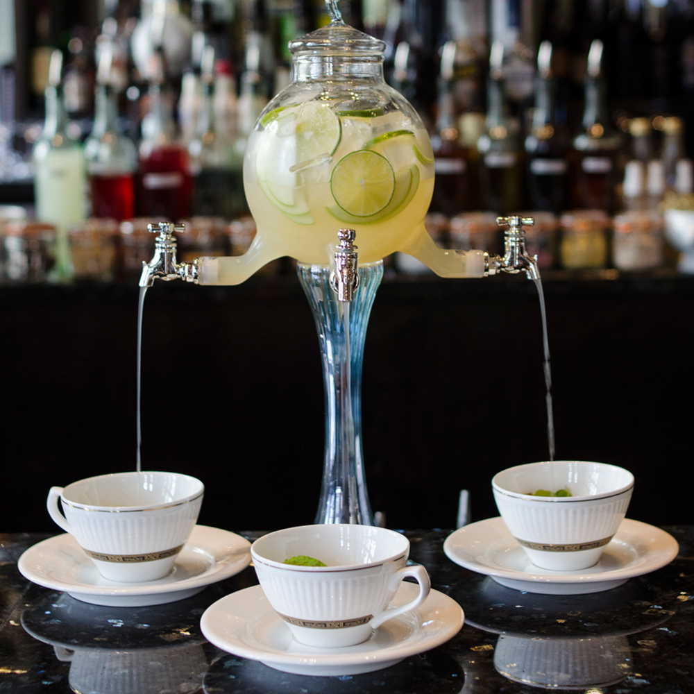 - Mr Cooper's House blend is bold and beautiful, mirroring the modern, gutsy dishes on its menu. Together with other blends within Quinteassential's range, the service, ambience and fine cuisine ensure guests enjoy their experience from the start of appetisers to the end cup of tea.