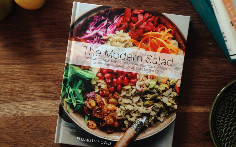 The Modern Salad – recipe book by Elizabeth Howes
