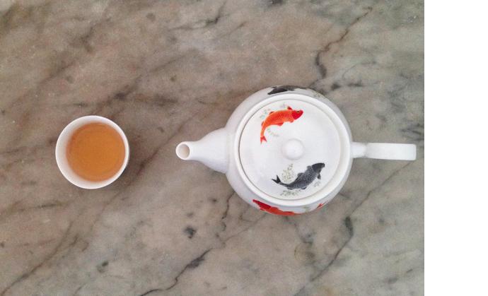 Secret tea ritual of Hong Kong's triad