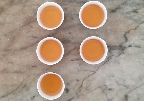 Secret tea ritual of Hong Kong's triad.