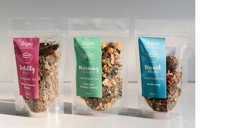 Amanda's organic wellness herbal teas.