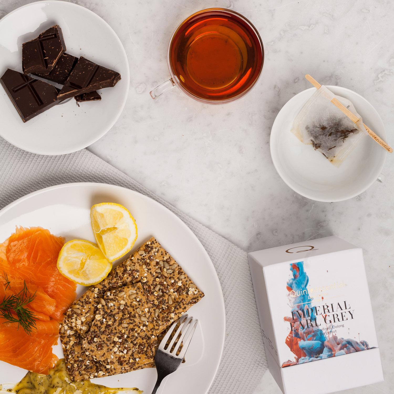 Premium loose leaf tea – Quinteassential's award winning interpretation of classic Earl Grey tea with oolong tea and Italian bergamot