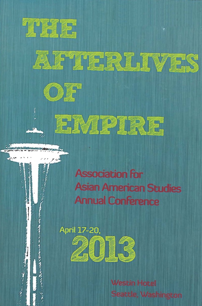"""Seattle, WA - April 17 - 20, 2013Contribution to """"Que(e)rying Contemporary Asian American Art"""" panel.Chaired by Laura Kina"""