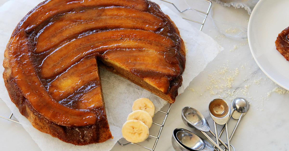 Banana Ginger Cake