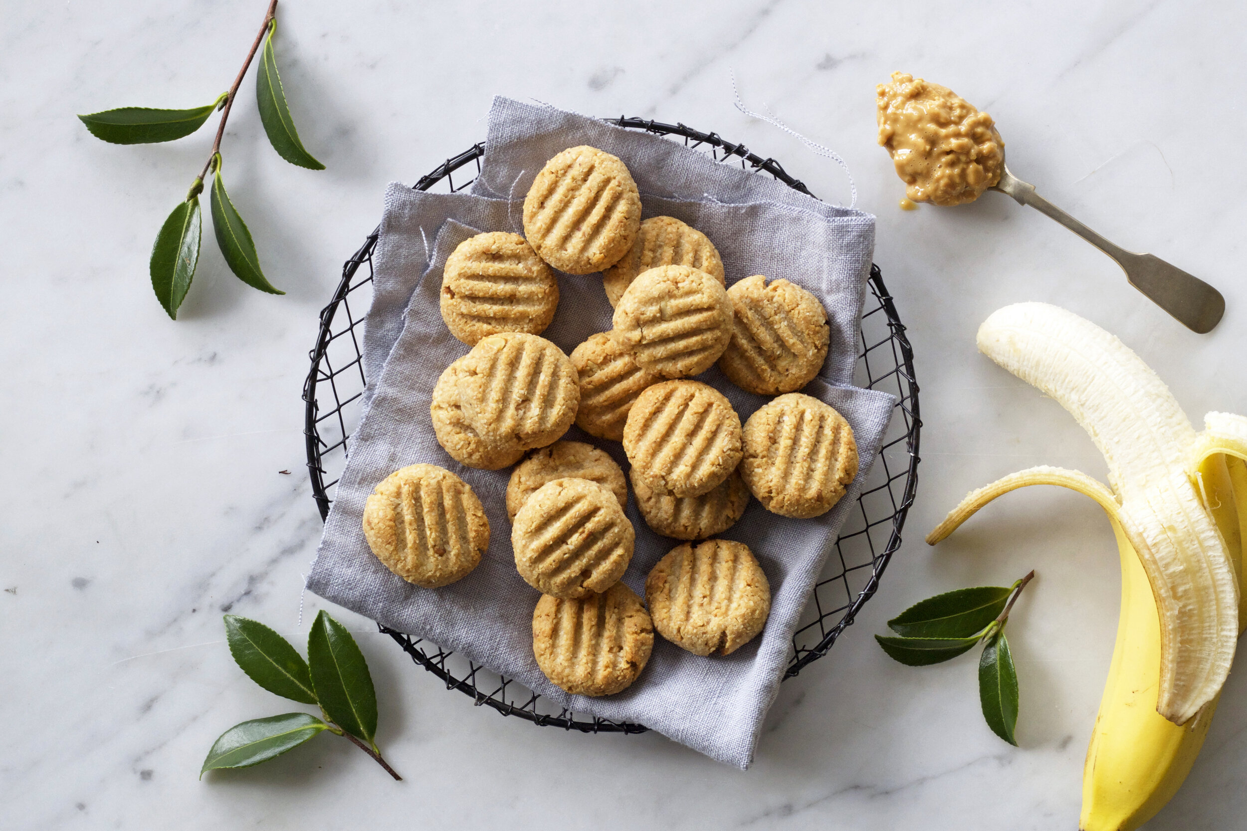 INGREDIENTS - 1 very ripe All Good Fairtrade banana – roughly mashed¾ cup good quality peanut butter1 ½ cups desiccated coconut – use organic to avoid preservatives1 tablespoon maple syrup (could also use honey)1 teaspoon good quality vanilla essencepinch sea salt