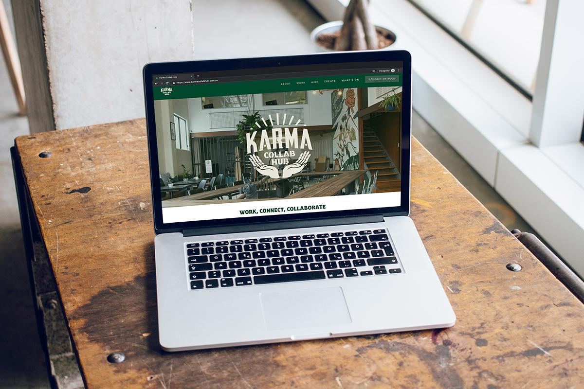 LATEST WORK - Karma Collab Hub, New Website Design