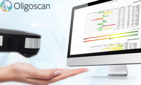 oligoscan - Oligoscan is a revolutionary scan that uses spectrophotometry to measure the optical density of the trace elements, minerals and heavy metals currently present in the tissues. Using Oligoscan enables you to quickly determine whether you have adequate amounts of essential minerals and trace elements to enable the smooth running of all parts of your metabolism, immune system etc. Oligoscan also identifies if there are toxic metals in your body.