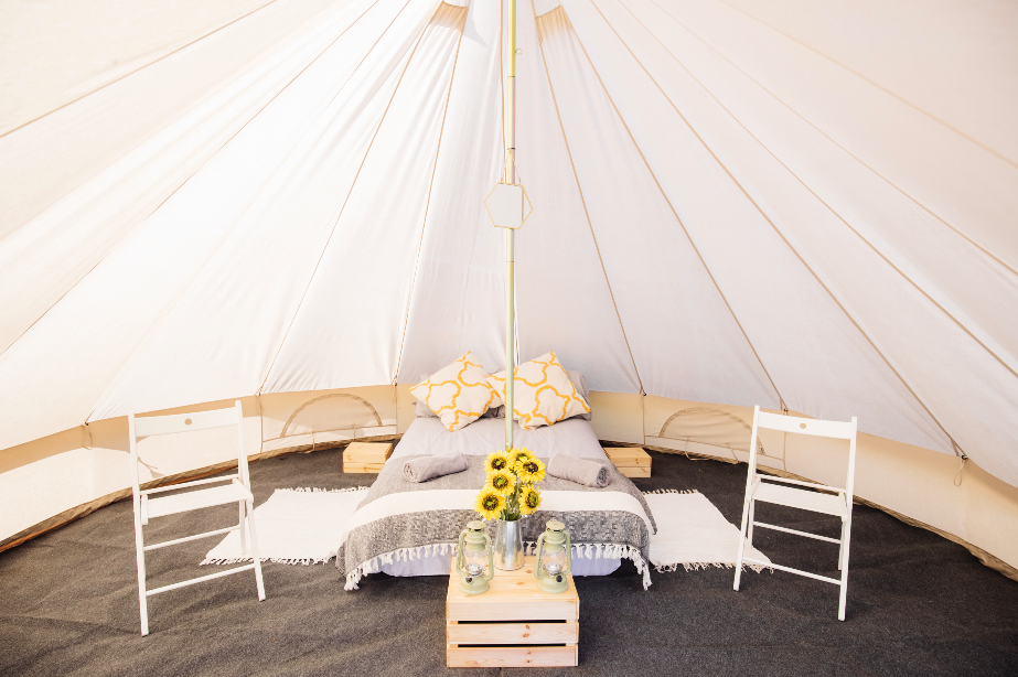 Luxury Bell Tent for 2, 3 or 4