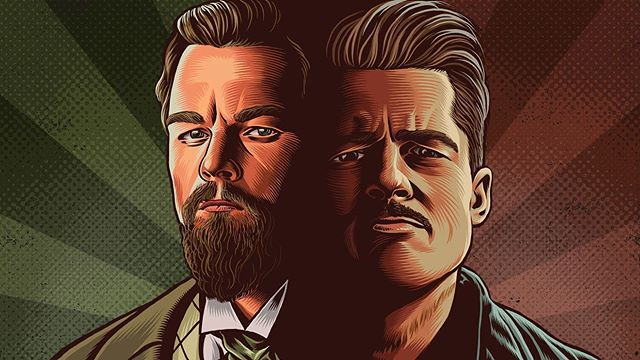 How come Hollywood, typically such an exclusive place, let 2 handsome, blond American actors flourish? It took the boundary-pushing Tarantino to finally bring 😰Leonardo DiCaprio😰 & 😏Brad Pitt😏 together in a feature film, ONCE UPON A TIME... IN HOLLYWOOD, so for @ringer, I wrote about what makes these performers so drastically different and complementary! Great illustration by @mario_zucca 🎨 link in bio 🎞