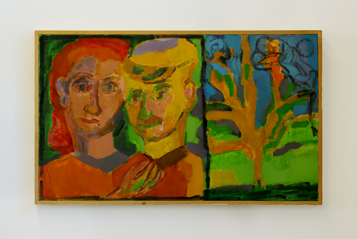 Portrait of Harold and Barbara Within the Tree