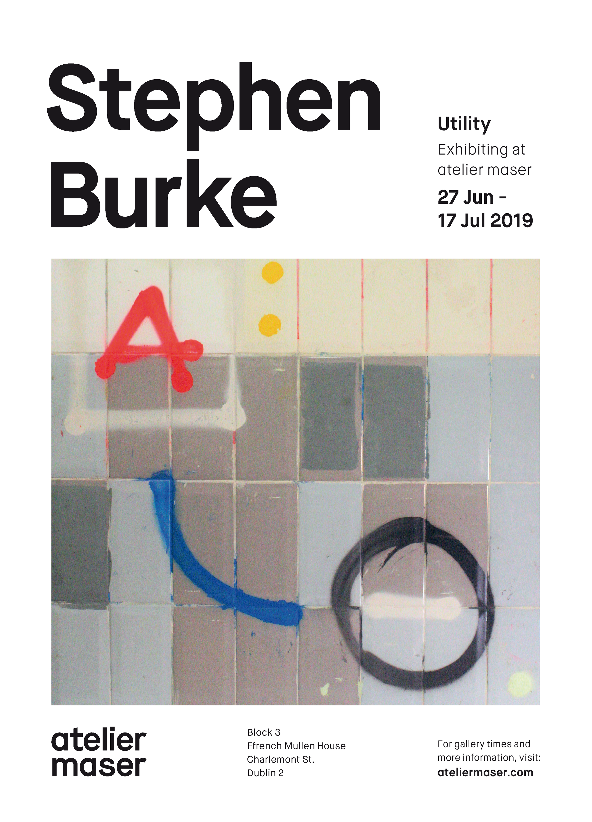 Stephen Burke Flyer