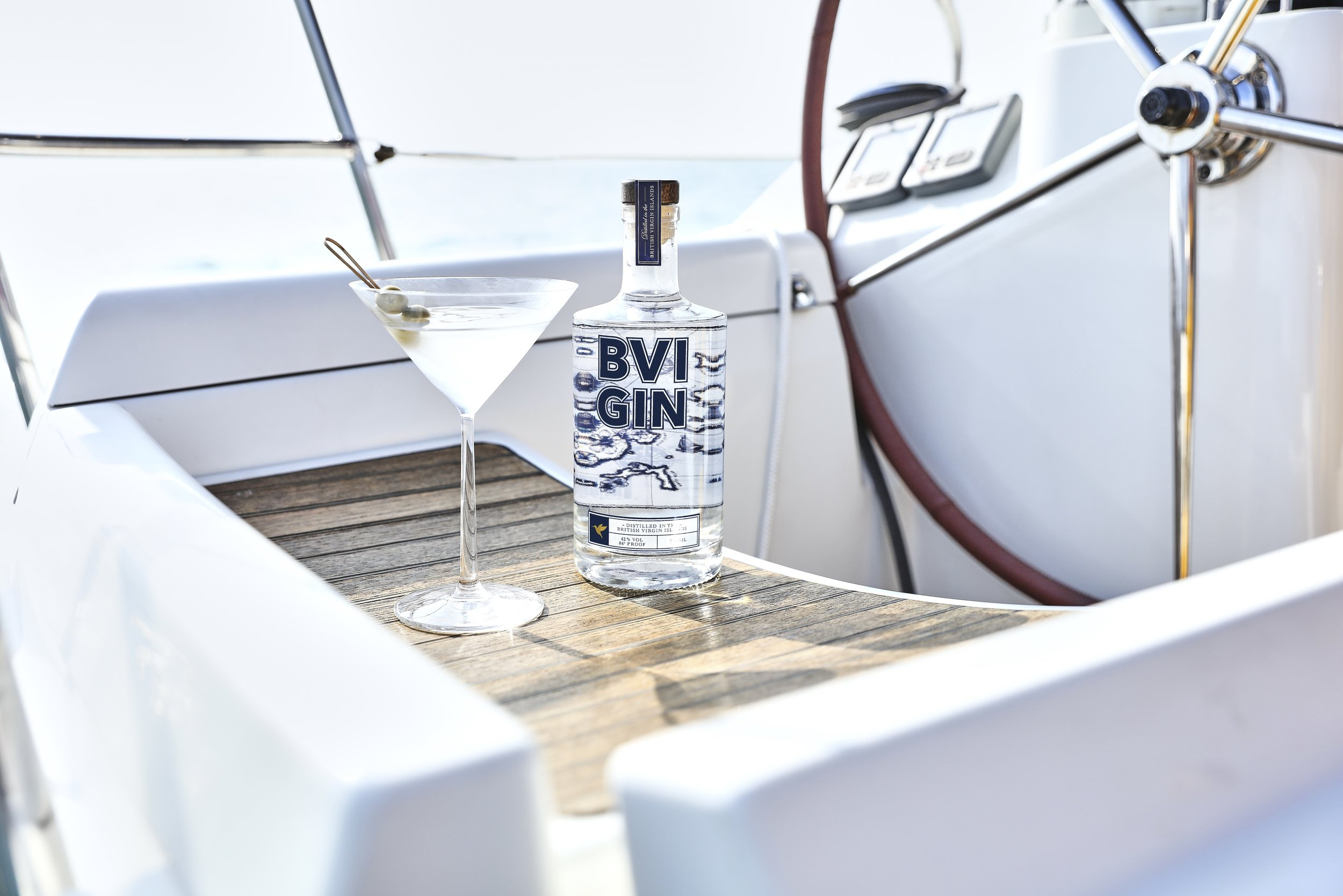 - Our mission is simple: to bring the BVI a locally produced gin of uncompromising quality and character. Distilled using carefully sourced, locally inspired botanicals including hibiscus flower, angelica root and grains of paradise, the resulting gin is fresh, smooth and with great depth of flavour; it perfectly captures the spirit of the British Virgin Islands.