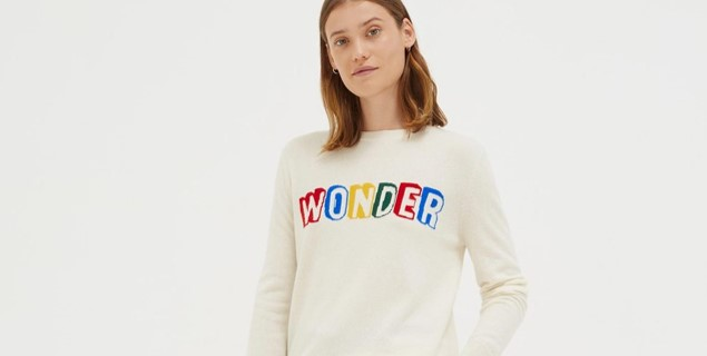 Chinti & parker cream wonder sweater - £295