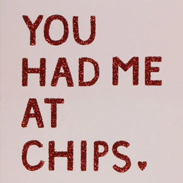 Paperchase you had me card - £3