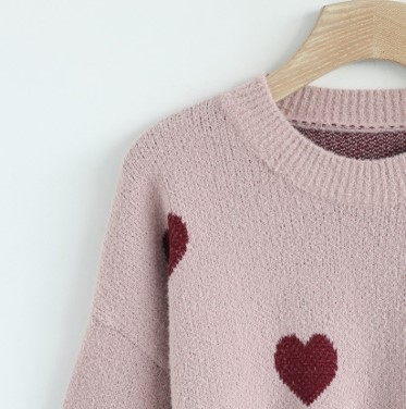 Chicwish hear your heart sweater - £50