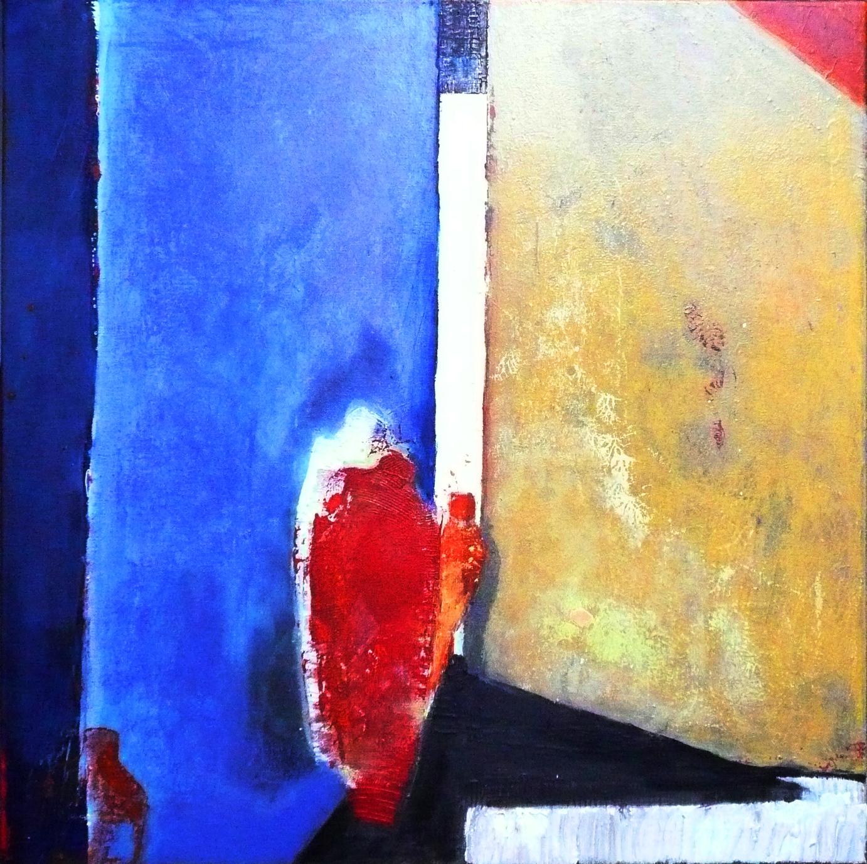 70x70, Mischtechnik auf Leinen, 2009
