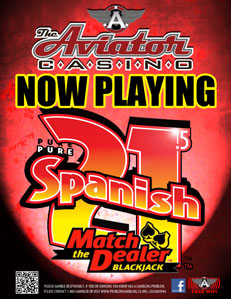 Pure Spanish 21.5 - Pure Spanish 21.5 where you are always a winner if you are dealt 21!GEGA 3944