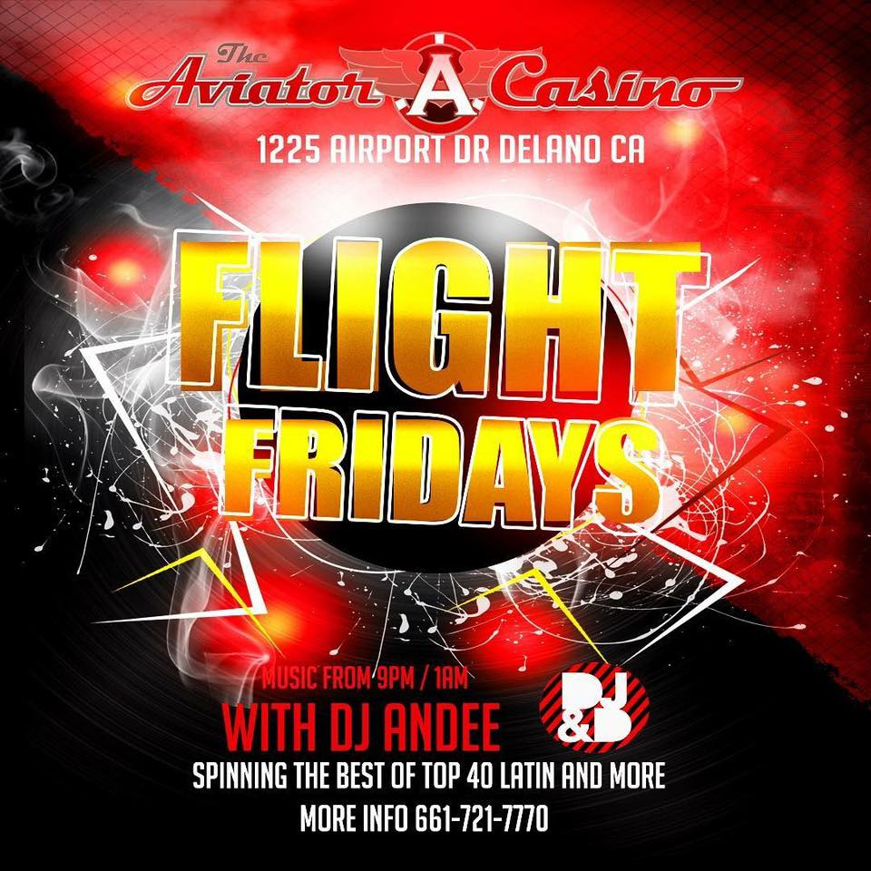Friday 9-1AM - DJ&D will be playing the music to keep everyone at high altitudes!
