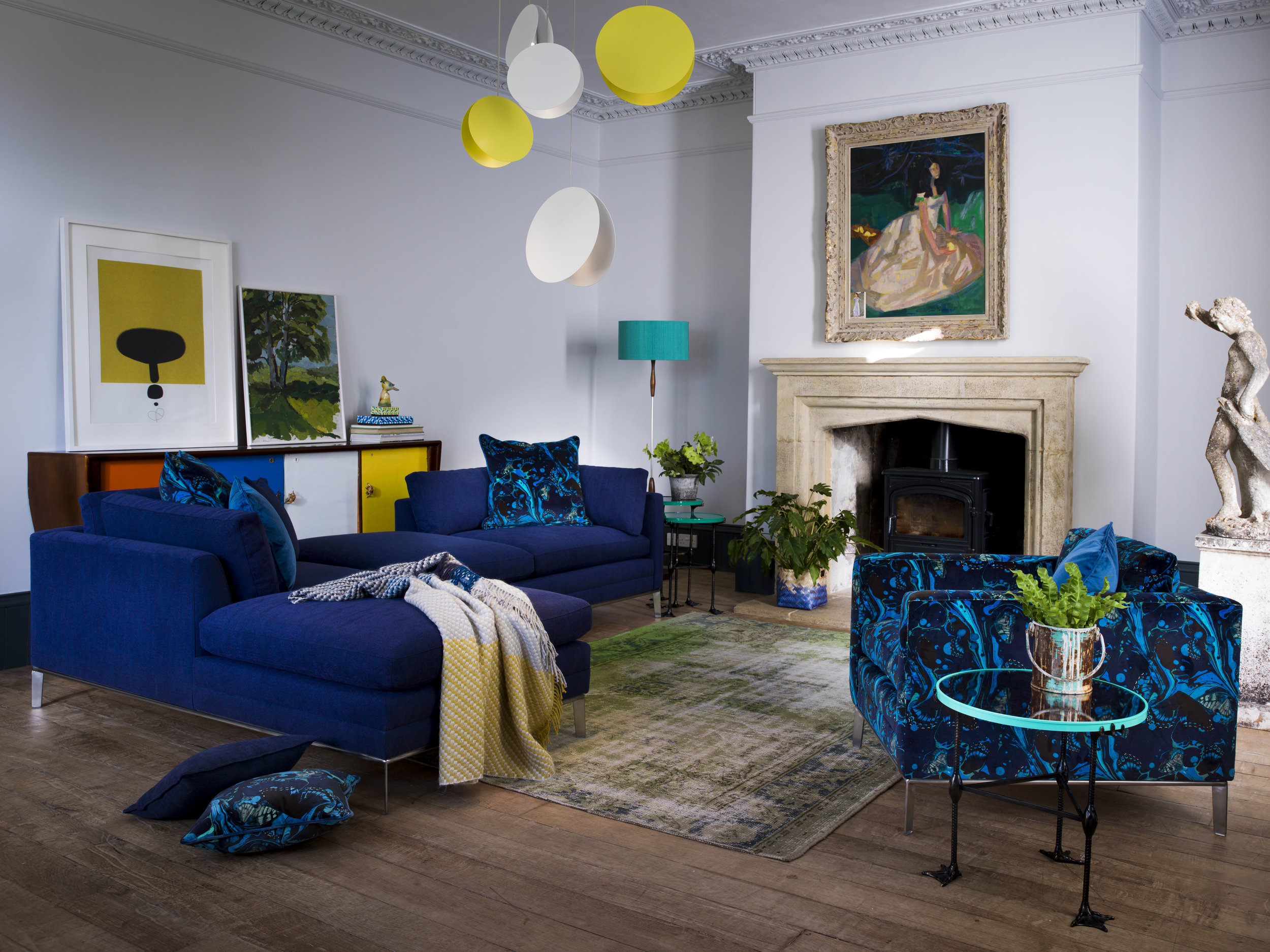 DURESTA-l-Two-Minnelli-Right-Arm-Units-in-Mistral-Blue-with-Marble-Butterfly-Electric-Blue-and-Estelle-Blue-Scatter-Cushions-Minelli-Chair-in-Marble-Butterfly-Electric-Blue.jpg