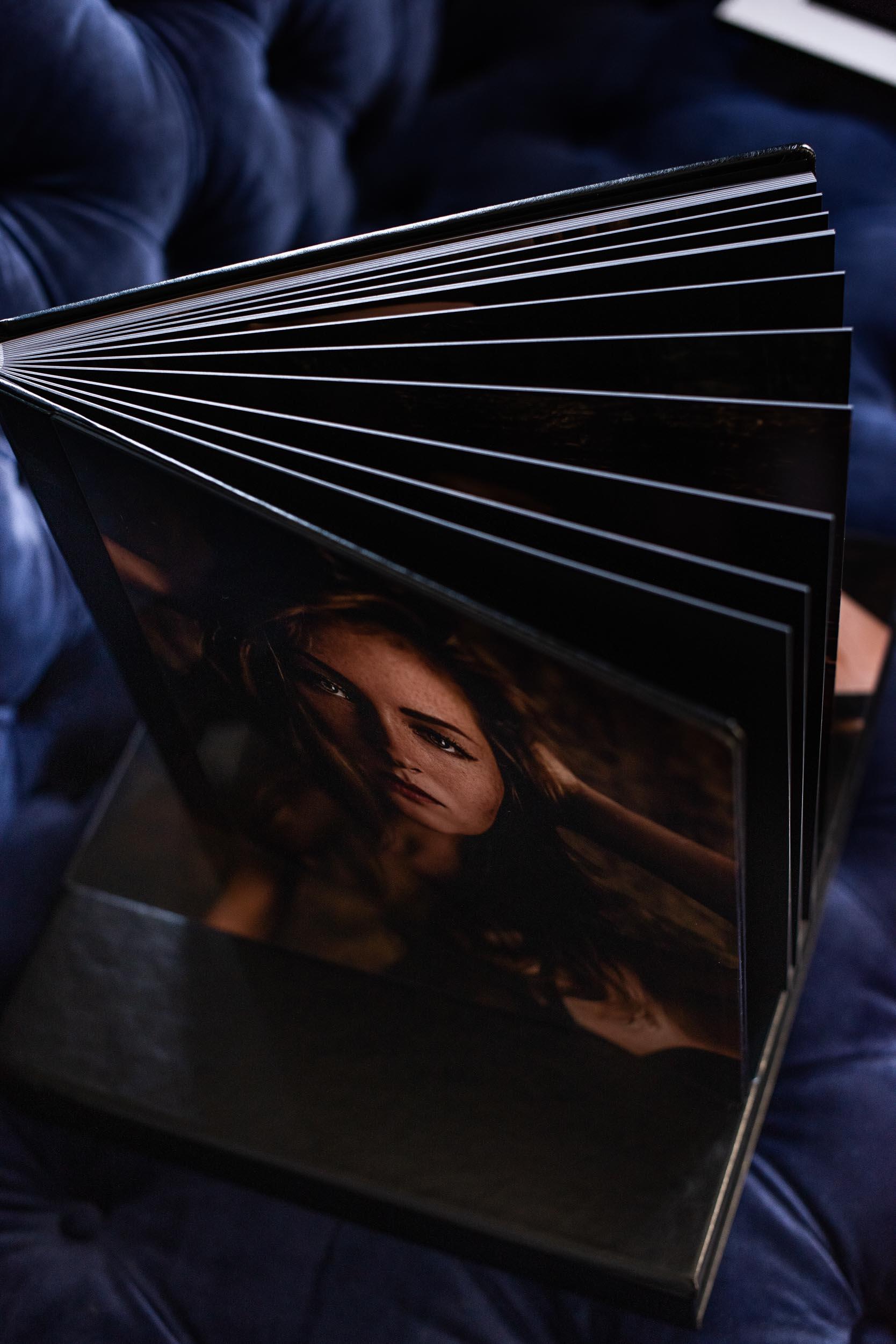 Photo Album for Boudoir Pictures