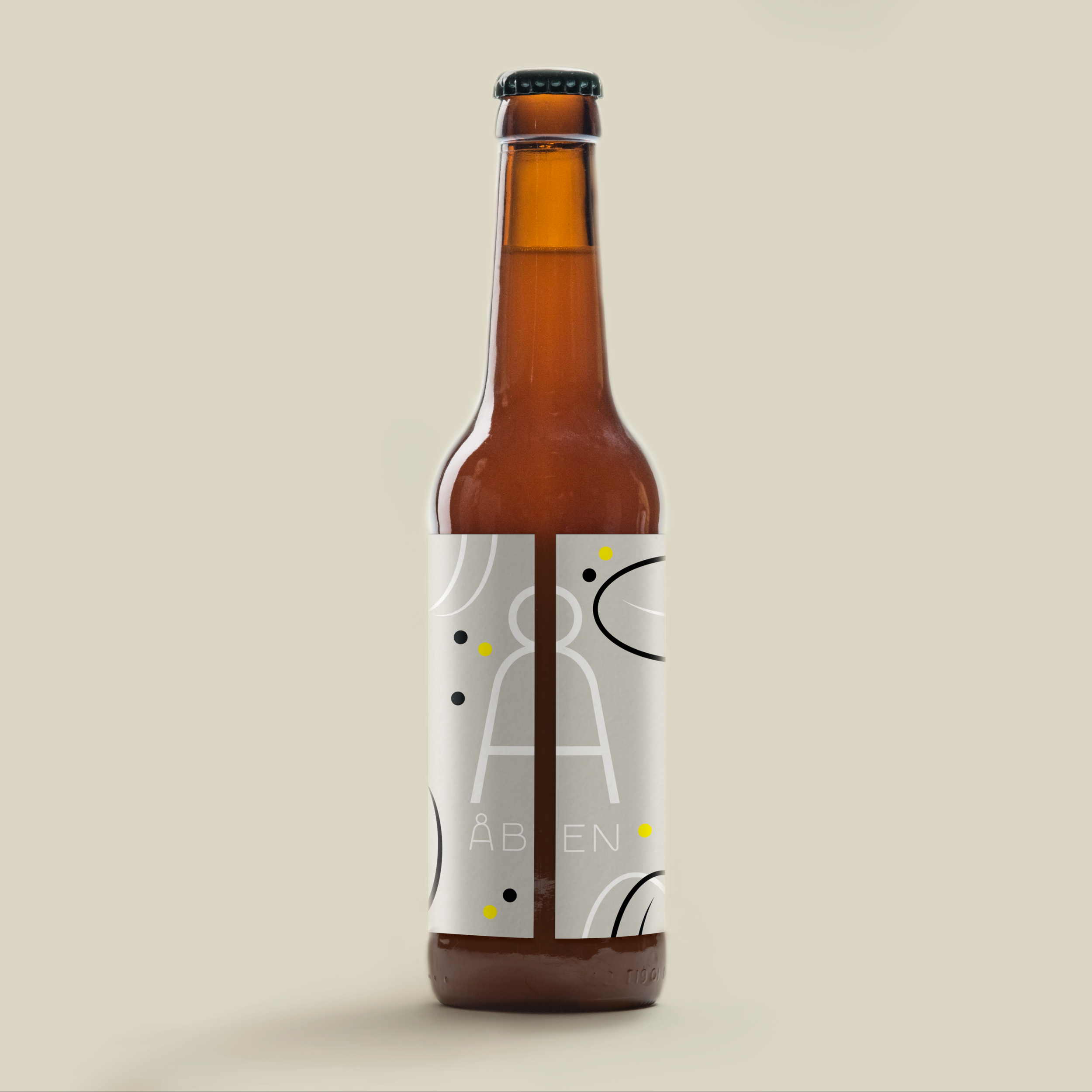 B63  / Belgian Wit Beer / 4.9%   Limitid Edition, 2019   Refreshing and fruity Belgian Wit beer. Made with bitter orange zest, lemon peel and coriander seeds and fermented with WLP400.