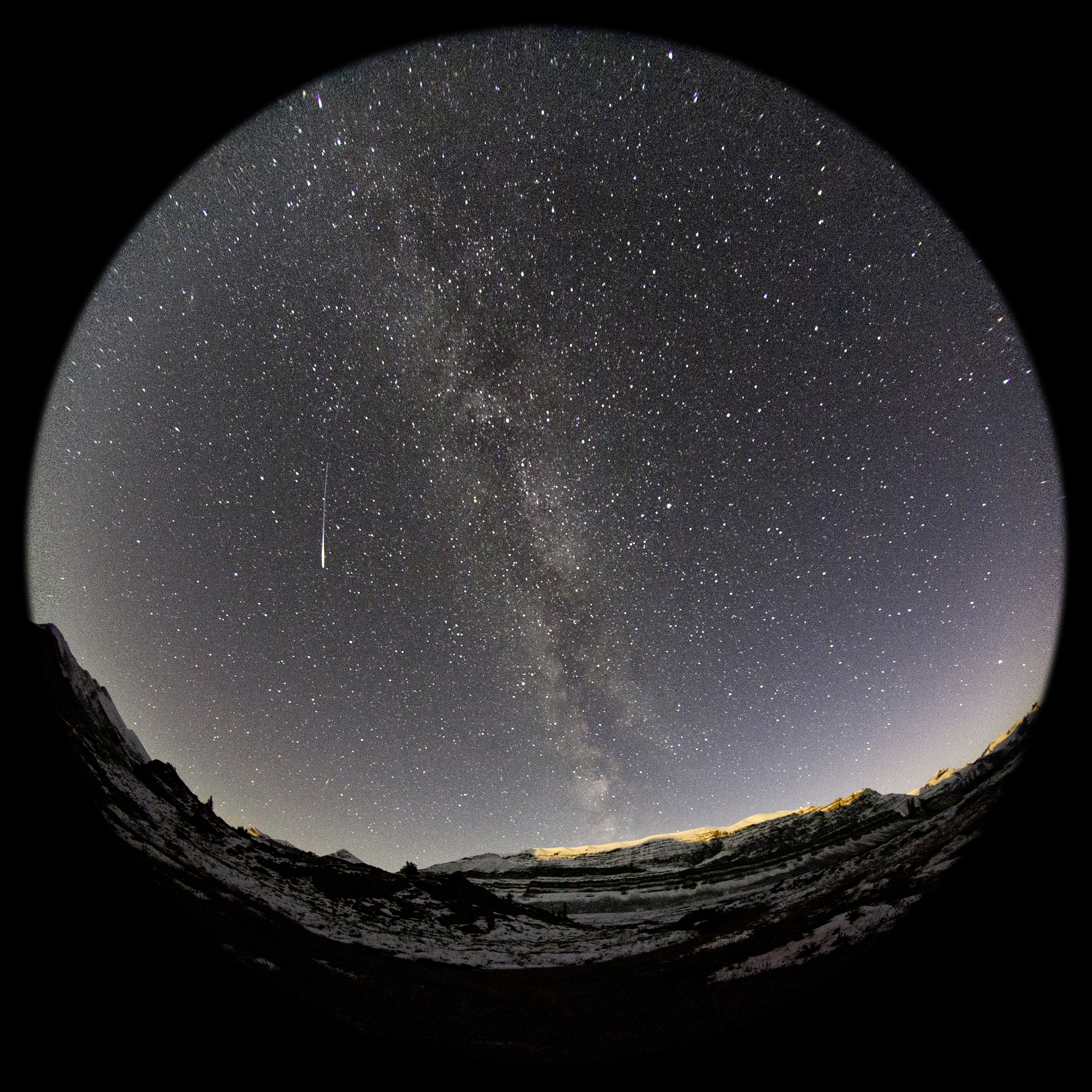 Meteor at Beauty Creek