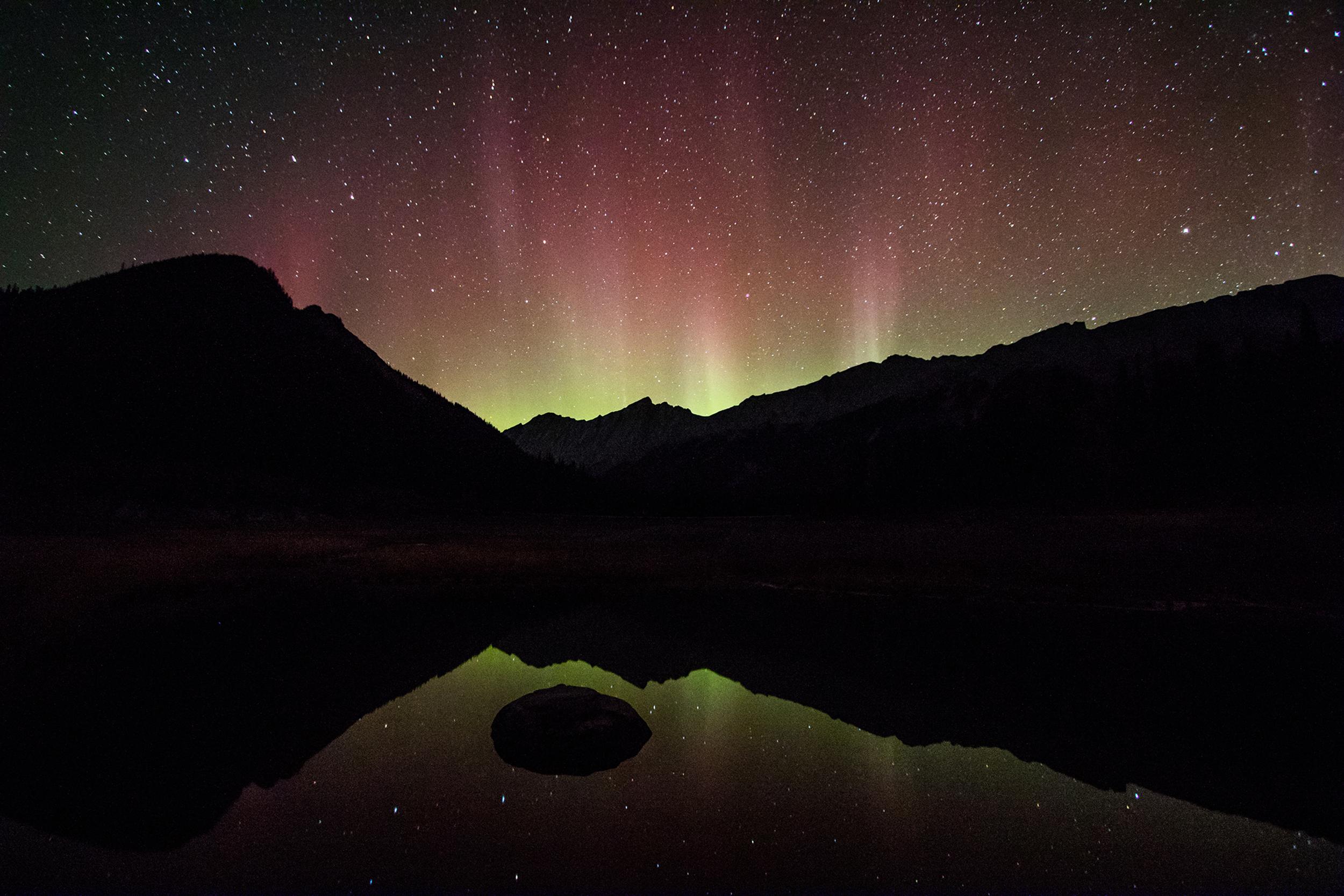 Auroras at Medicine Ridge
