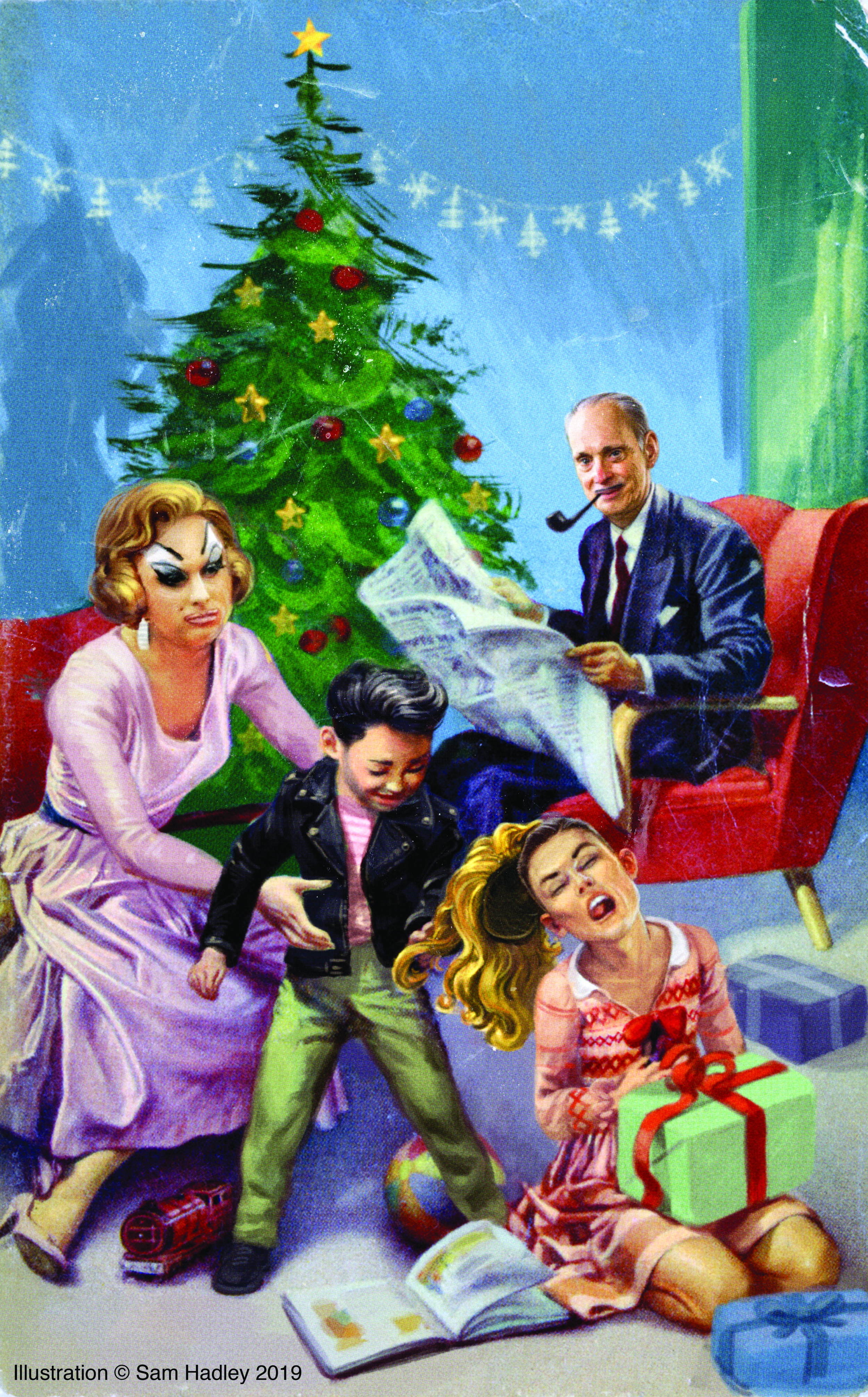 A John Waters Christmas at Sheldon Arts Center, St Louis — T Presents