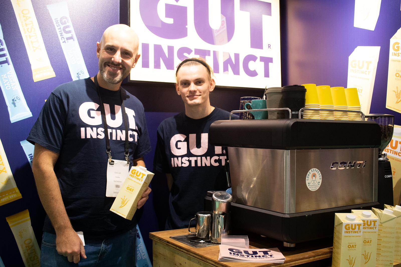 Gut Instinct at their 2nd Trade Show - Chris Joll (Founder)