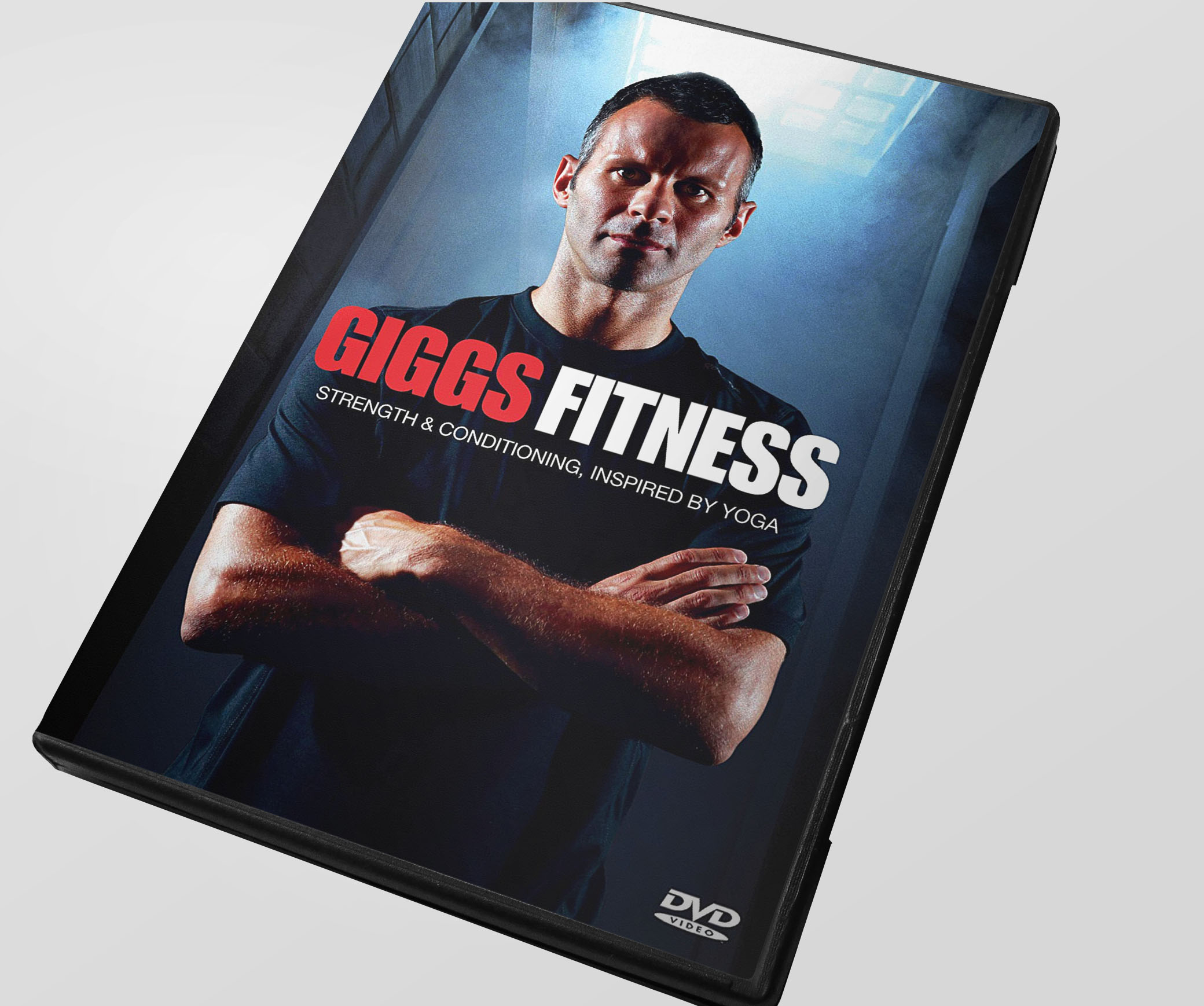 RYAN GIGGS /  Partnership with footballer Ryan Giggs to produce the first ever men's football instructional Yoga DVD. It has sold over 100,000 copies to date.