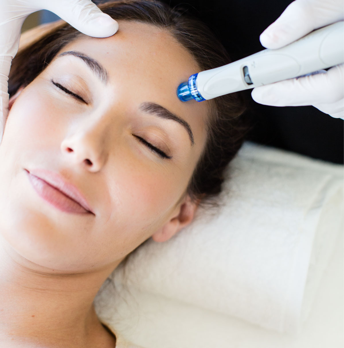 HYDRAFACIAL - The Hydrafacial Company and their patented Hydrafacial system is the only FDA-approved vortex technology to simultaneously cleanse, extract, and hydrate your skin. HydraFacial super serums are made with nourishing ingredients that create an instantly gratifying glow. For an enhanced and extended treatment experience, truly pamper yourself and inquire about upgrading to the Deluxe or Supreme Hydrafacial.30 mins, $150 (Signature)45 mins, $200 (Deluxe)60 mins, $240 (Supreme)
