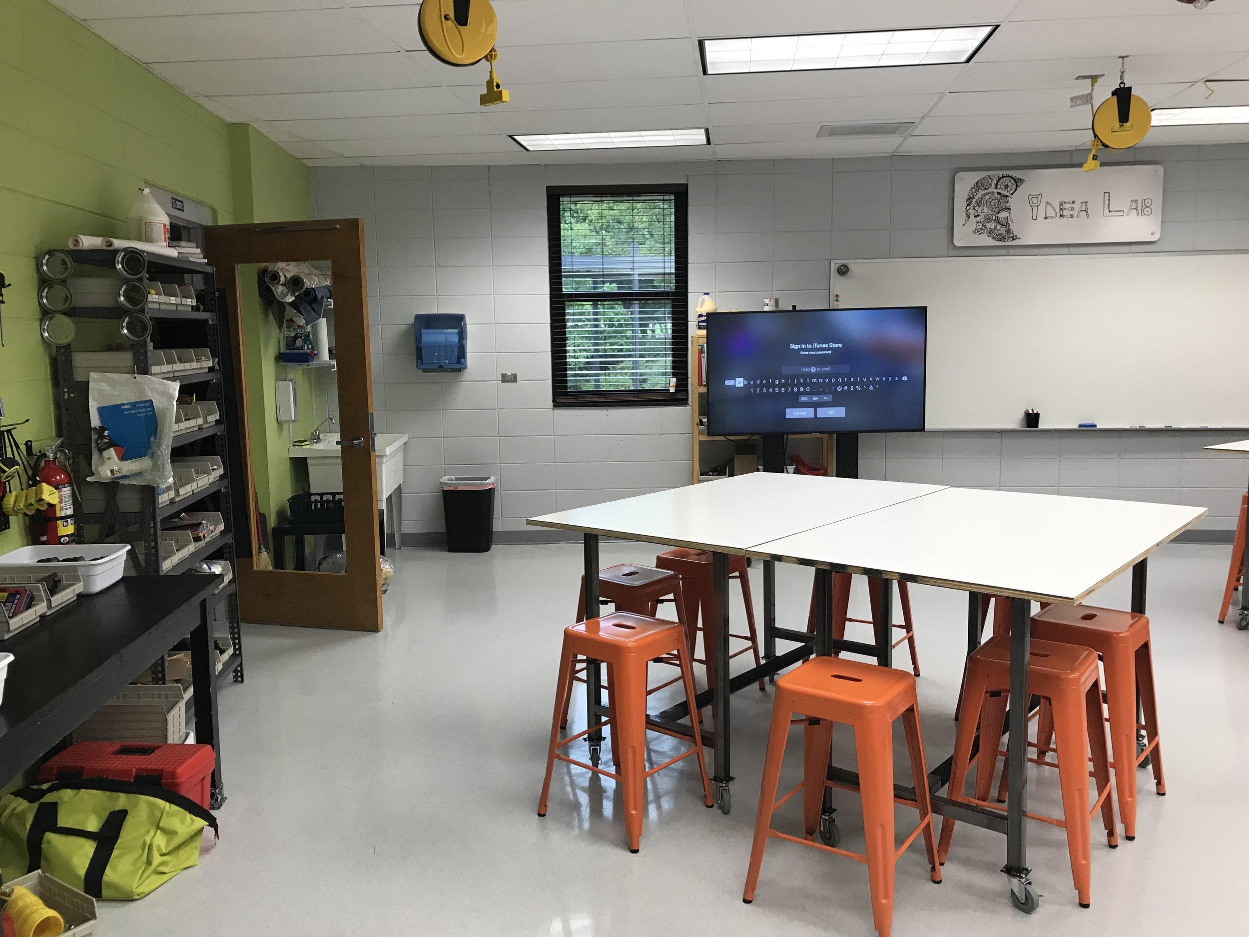 Main room custom tables