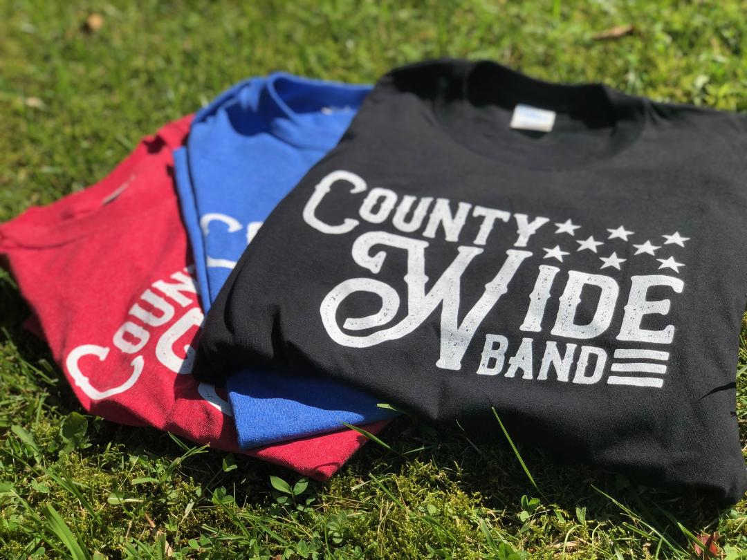 County Wide Band T-Shirt $15 -