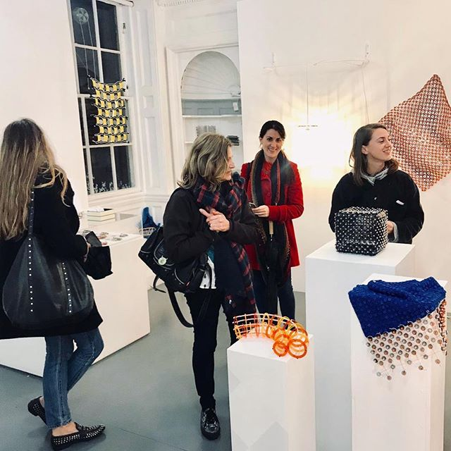 Thank you to everyone who made it to the private view this evening! It made me feel all warm and fuzzy inside to see such a wonderful turn out! If you are in Bath this week you can see my work at the 44ad art space on Abbey st! Lots of unique jewellery available to buy also 😊 Plus a big thank you to @commonroombath for sponsoring the alcohol for the opening! . . . #designshow #textiles #textiledesign #surfacedesign #designermaker #perspex #transparent #pattern #repeat #interior #installation #perspex #jewellery #acrylicjewellery #innovation #design #plywood #exhibition #bath #bathcity #visitbath @visitbath