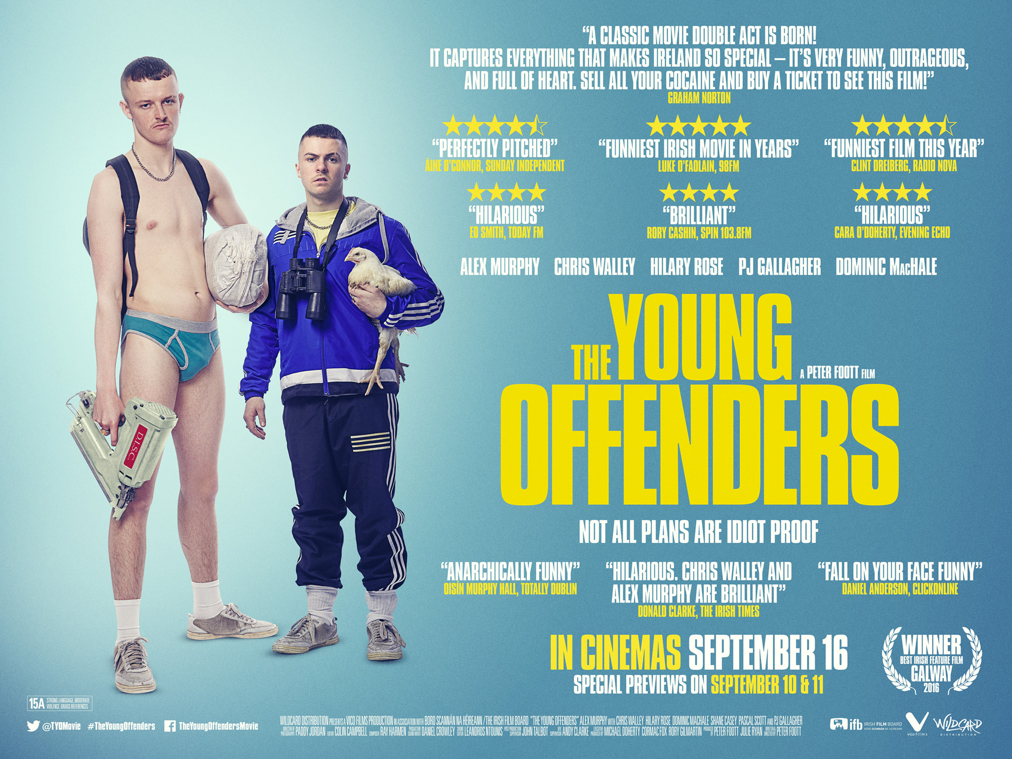 The Young Offenders (2016) Courtesy of  Fís Éireann/Screen Ireland