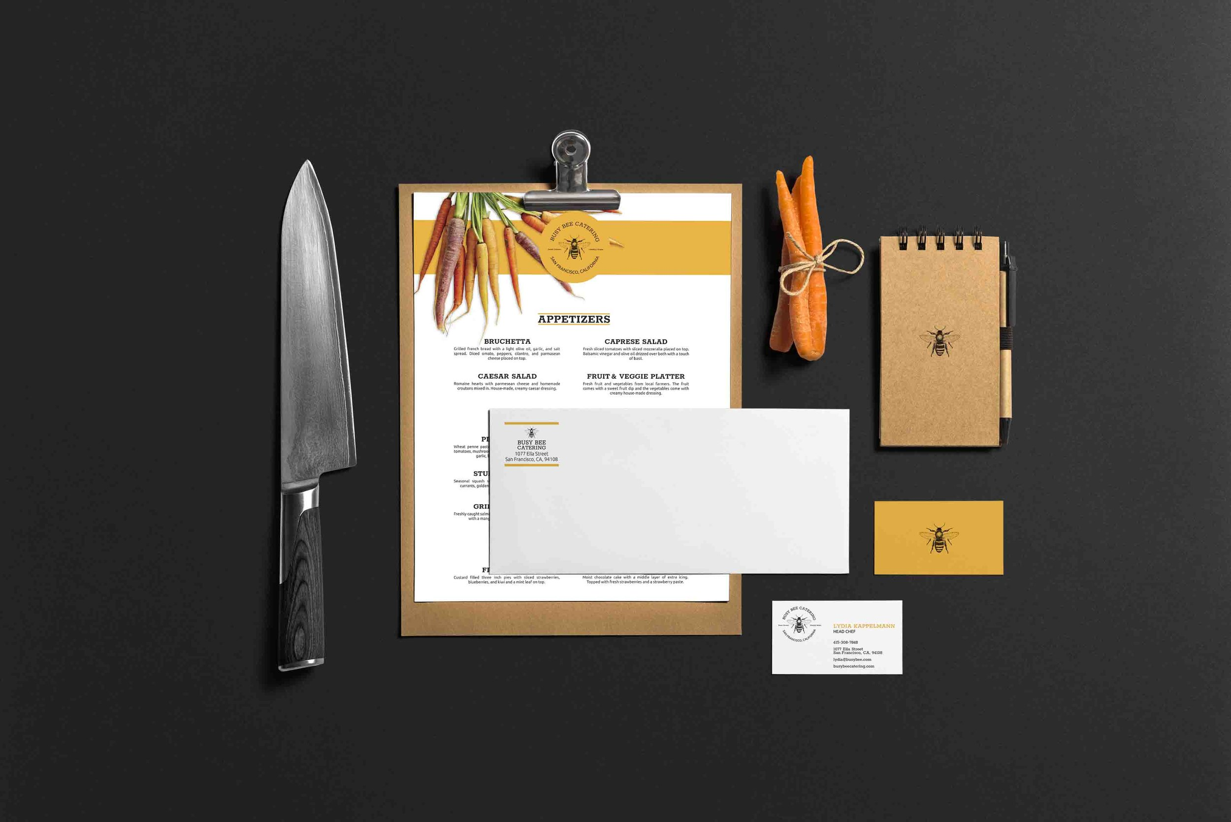 Menu and Envelope.jpg