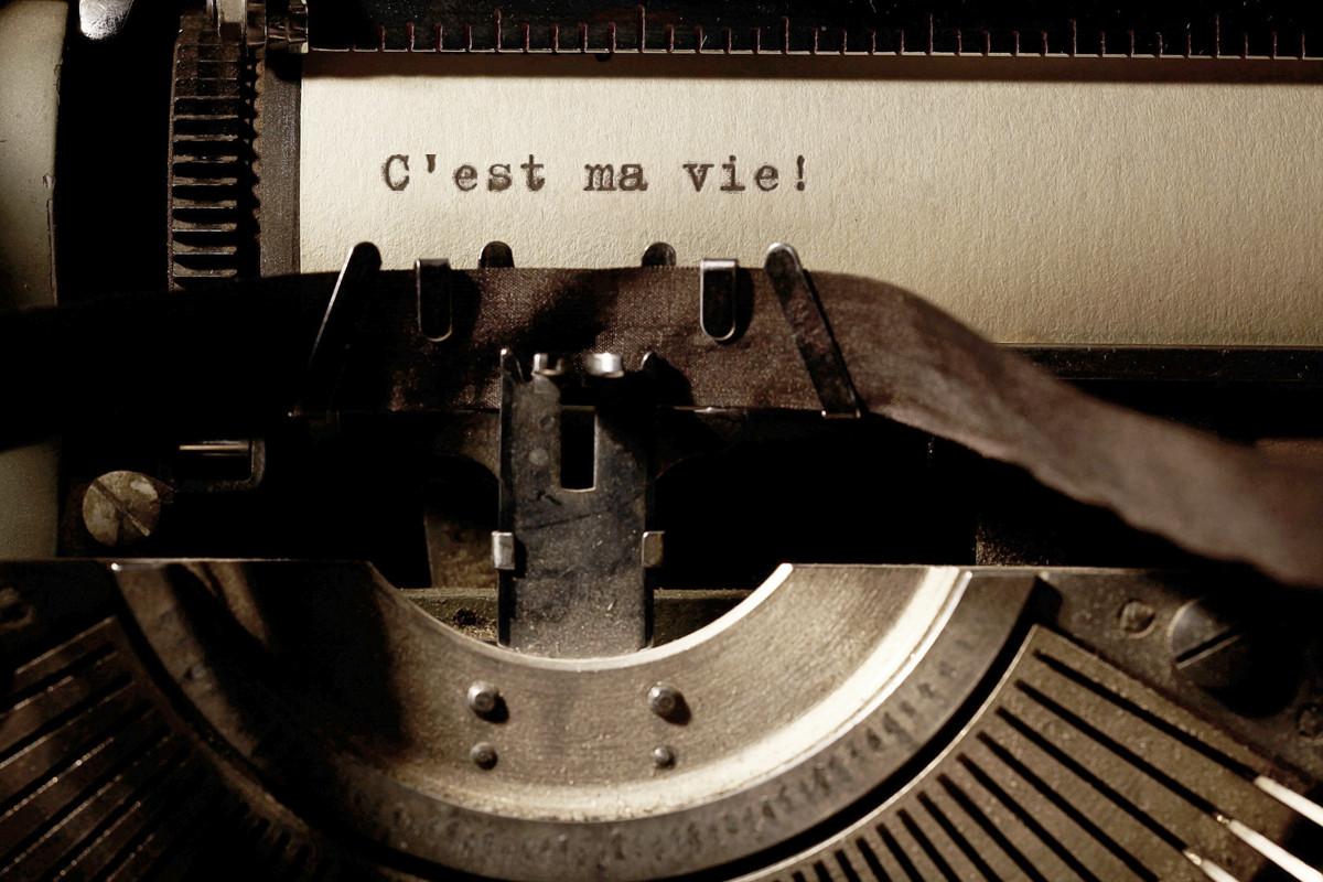 Typewriter - C'est ma vie!