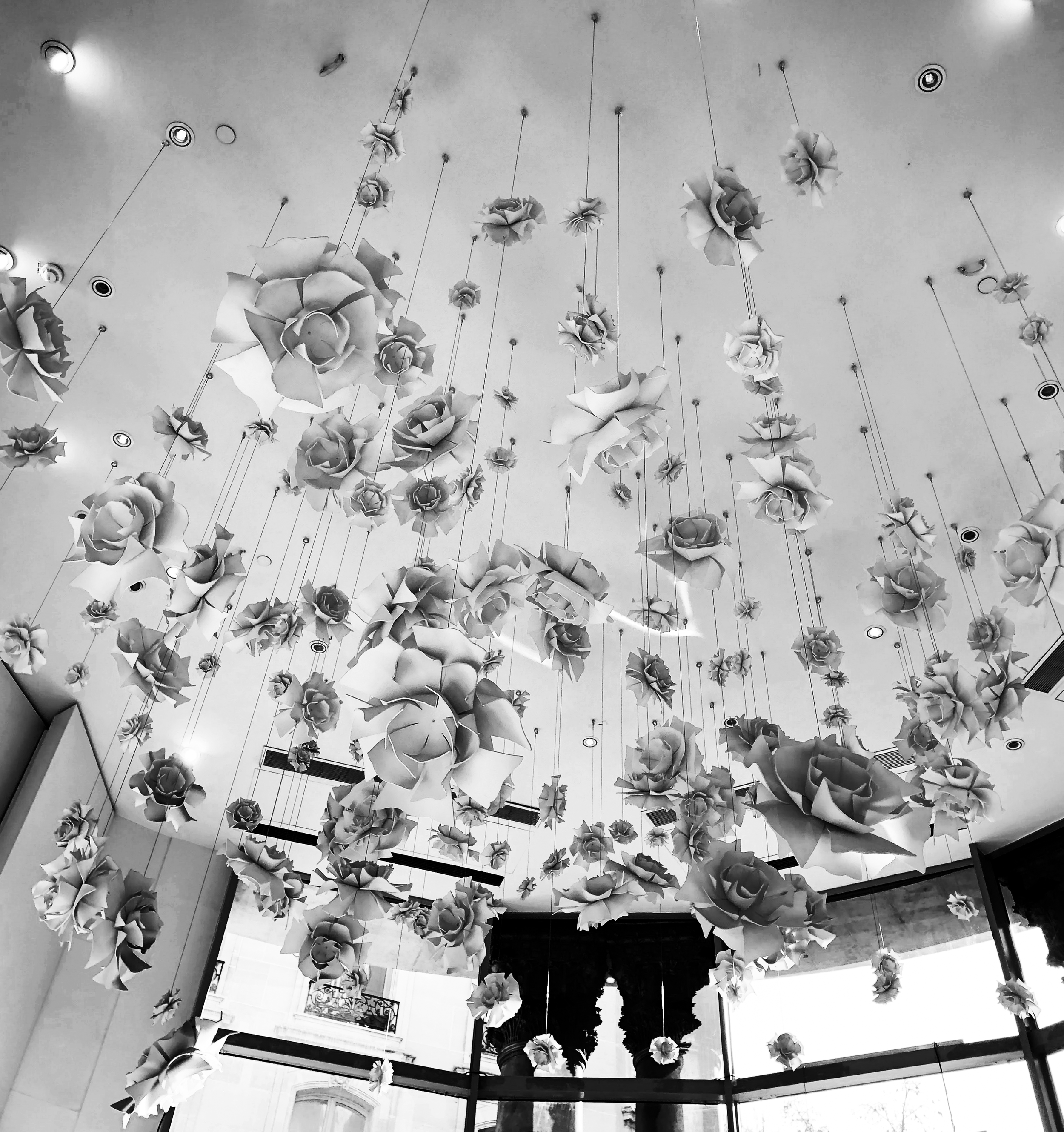 Printemps Lobby ceiling