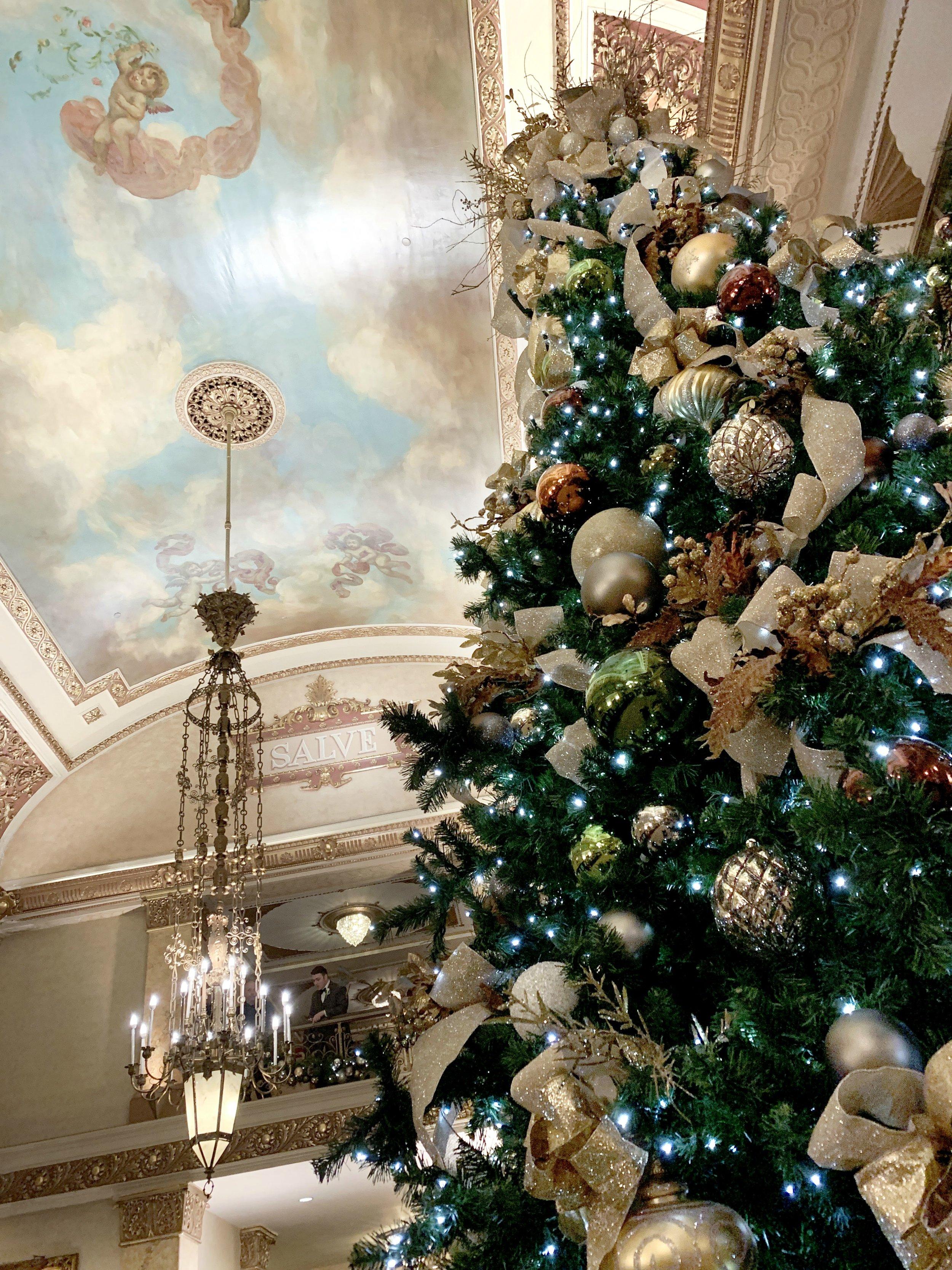Pfister tree + ceiling
