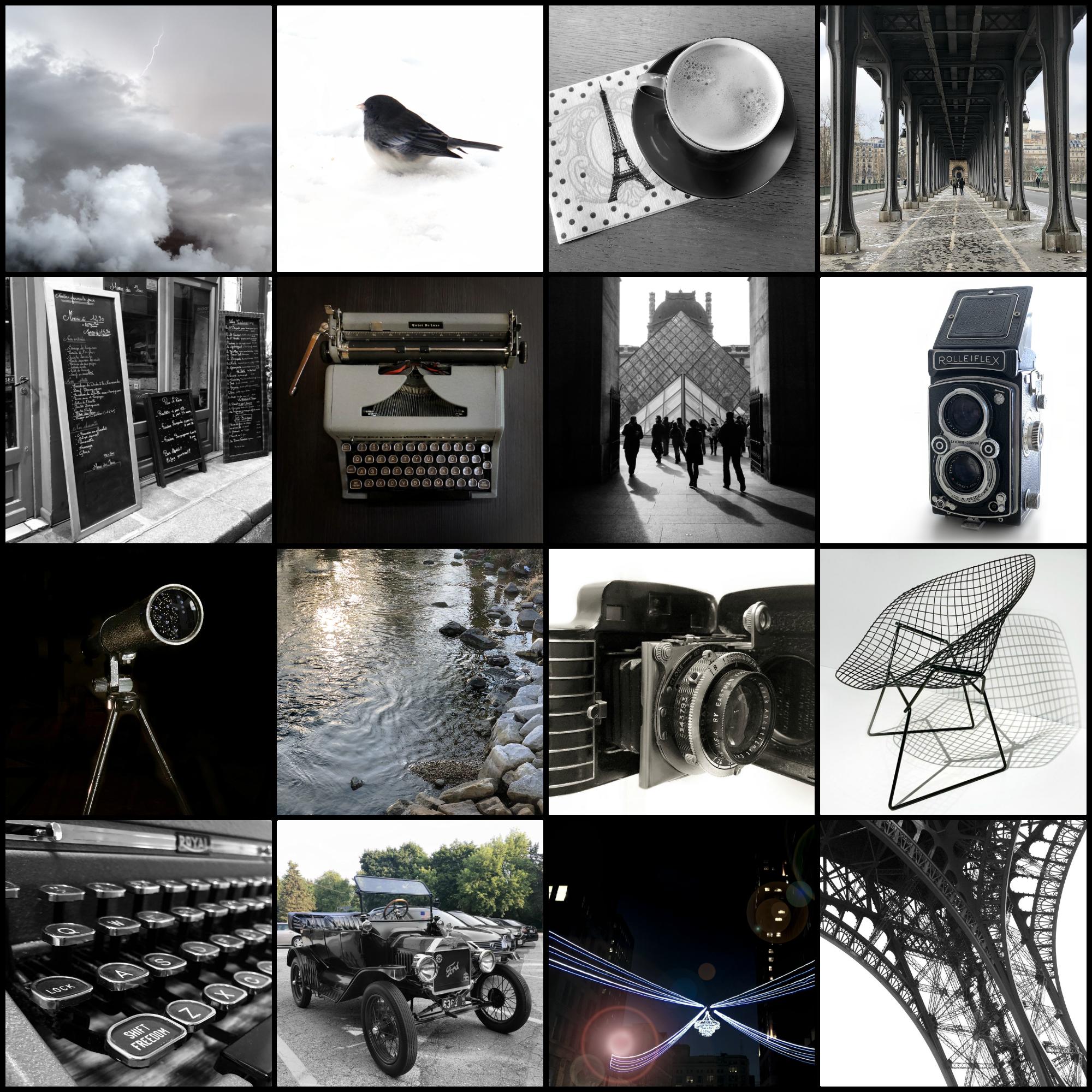 la vie en noir et blanc | black and white
