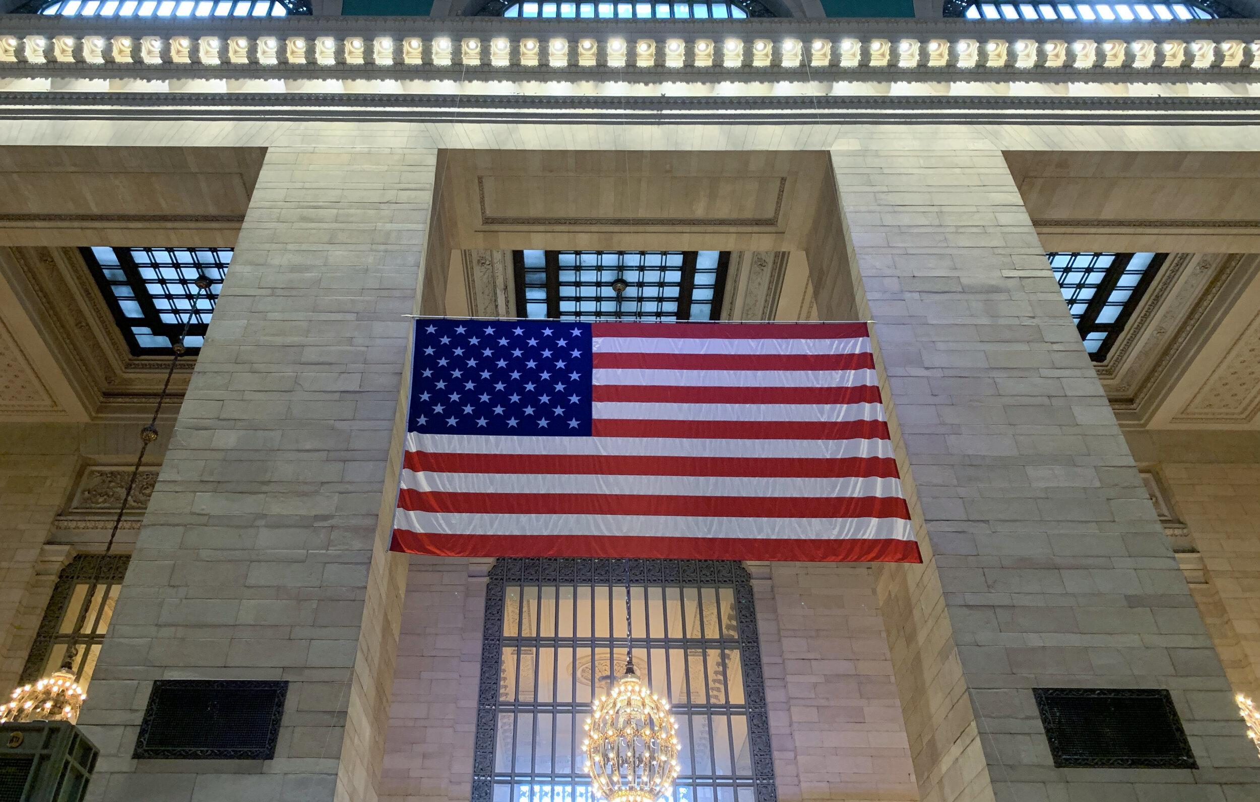 Flag at GCT