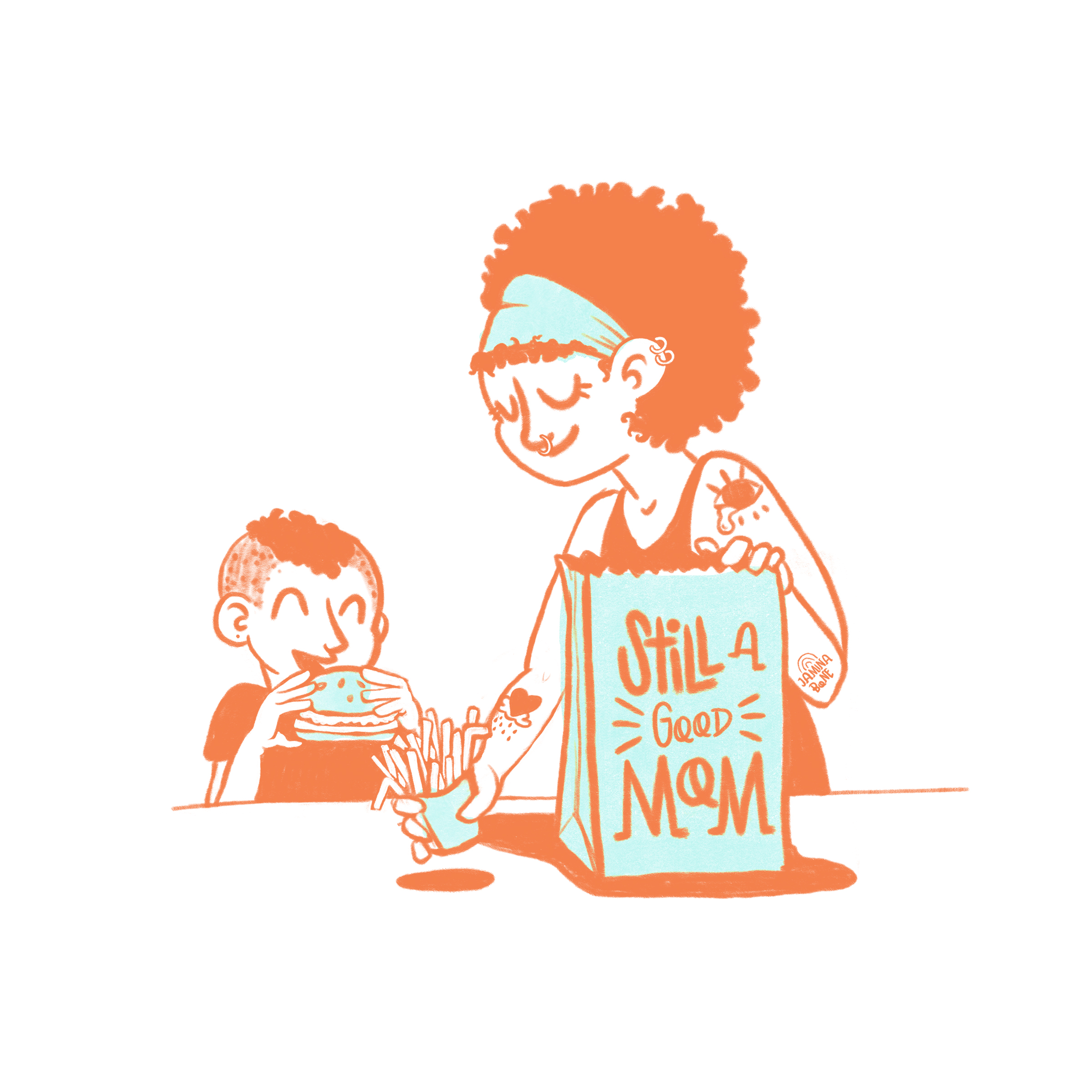 Select Still a Good Mom prints Available NOW! - Limited Number Available