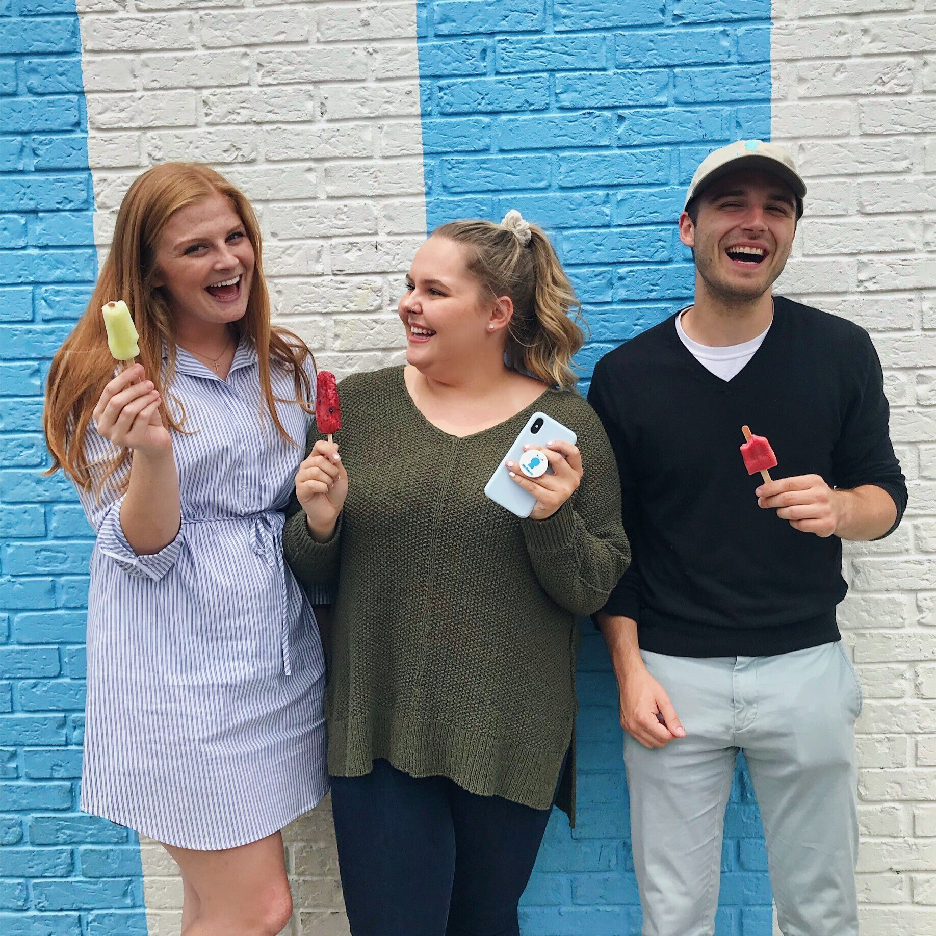 Our Summer 2019 interns having a blast during a Skoller content day!